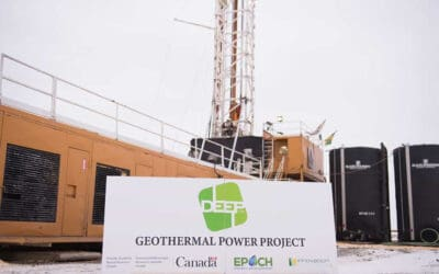 Canada's first geothermal power plant to be built near Torquay in the spring