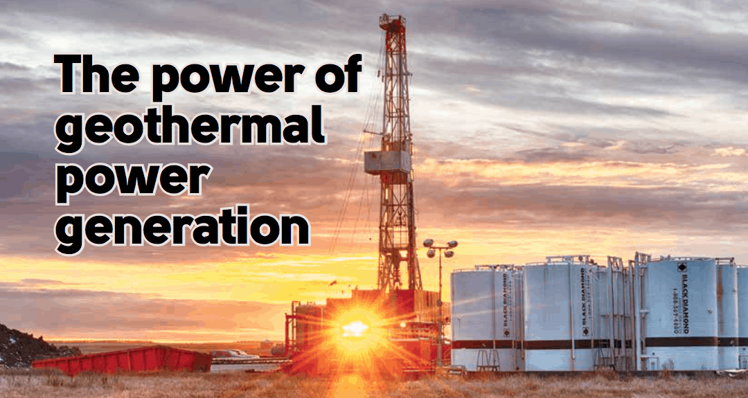 """SaskOilReport – May 19 – """"The Power of Geothermal power generation"""""""